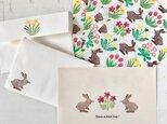 letter set. -spring flowers-の画像
