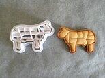 牛肉 クッキー 型の画像