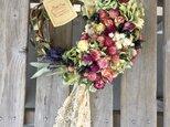 可愛い小花のハーフリース(レースリボン) 母の日の画像