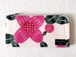 型染め 長財布「木に咲く花」の画像