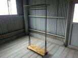 【展示作品】ハンガーラック L(yamapon15 様仕様)の画像
