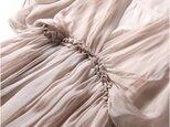 【受注製作】美しい100%シルクで・ロングワンピースシルク の画像