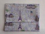 通帳・お薬手帳入れ入れ リバティプリント(Rue de Paris B) の画像