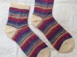 手編み靴下 opal 星の王子様 7767の画像