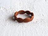 木の指輪 ベントウッドリング チェリーの画像