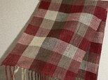 手織りストール A57の画像