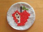 コースター りんごの画像