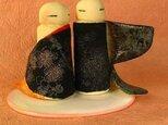 陶器のひな人形(立ち雛)6の画像