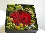 Flower Box (レッド*ブラック)の画像