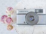 小型フィルムカメラ/ラベンダー&ライトグレーの画像