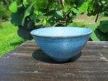 飯茶碗 〔blue〕の画像
