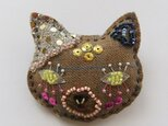"""Brooches102 """" beige cat""""の画像"""