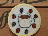 『オーダー品』coffee*ブローチの画像