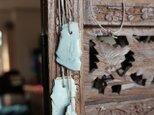 青のカケラ アロマペンダント70~40cmの画像