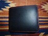 Black&Red 財布の画像