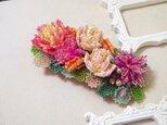 バレッタ Bouquet(ソフトピンク)の画像