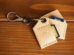 栃木レザーのSDカードホルダー SDH001の画像