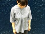day off shirt pullover grayの画像