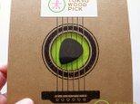 TOKYO WOOD PICK TearDrop Blackの画像