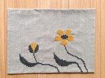 ランチョンマット きいろい花の画像