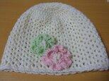 幼児用ニット帽の画像