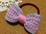 毛糸のデカリボンの画像