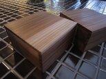 『飛騨の杉』間伐材で製作した Woodジュエリーボックスの画像