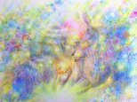 【妖精水彩画】忘れな星の画像