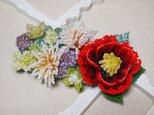 バレッタ Bouquet(ツバキ)の画像