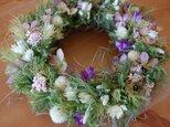 field (秋の草花)Wreathの画像
