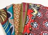 カットクロス(約55×45cm 前後します)アフリカ布 福袋6枚入りの画像