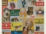 ITALY ラッピングペーパー  catの画像