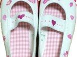 手描き靴★上靴★入園祝いにの画像