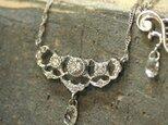 K18WG ダイヤモンド lace~レース~ ネックレスの画像