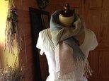 手織り リトアニアリネンとラミー 3色の画像