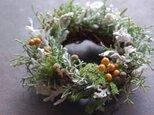手のひらリース 「秋から冬へ」の画像