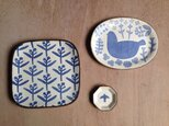 【O様ご売約済み】四方皿、オーバルプレート、豆皿の画像