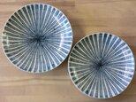 ゴス車輪シマシマ めおと取り皿の画像