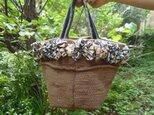つぼみバッグ*花かごの画像