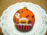 r様オーダー マカロン☆ソーイングセット(かぼちゃのケーキ)の画像