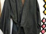 着物で作る☆作務衣 男性用 大島の画像