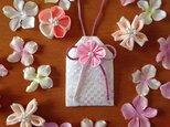 <受注製作>元巫女が作る桜のお守り袋の画像