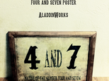 4and7ポスターの画像