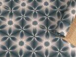 雪花絞り木綿反物13m スレン黒の画像