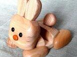 ウサギのスマホ&ガラケースタンドの画像
