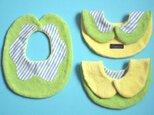 ビブ(スタイ)doughnut(ドーナツ)/melonの画像