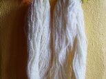 Organic 無染色の手紡ぎ羊毛糸 70g / Natural(生成り)の画像