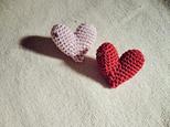 """K様オーダー // """"HEART"""" broochの画像"""