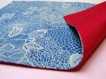 藍染 ランチョンマット(菊)の画像