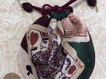 古布♪巾着の画像